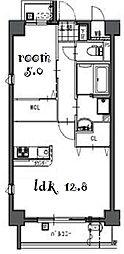 Laulea御器所[3階]の間取り