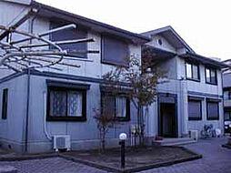 千葉県柏市新柏2丁目の賃貸アパートの外観