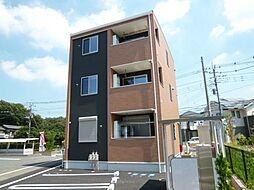 埼玉県北本市大字北本宿の賃貸アパートの外観