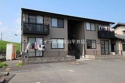 岡山県岡山市東区中川町丁目なしの賃貸アパートの外観