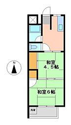 愛知県名古屋市中村区本陣通3丁目の賃貸マンションの間取り