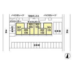 (仮)D-room人見[3階]の外観