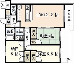 Nagomi[2階]の間取り
