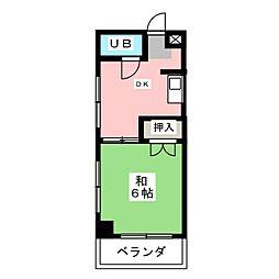 らんけい[4階]の間取り