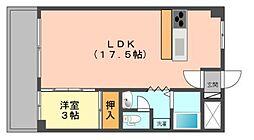 アドライフコーポ[4階]の間取り