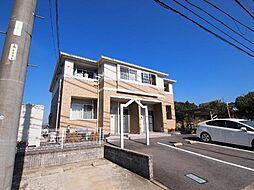 岐阜県可児市塩の賃貸アパートの外観