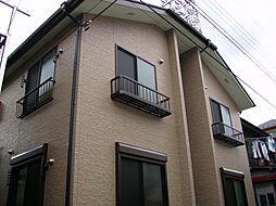 東京都足立区新田1丁目の賃貸アパートの外観