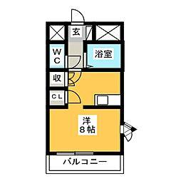 エトワールJUN[2階]の間取り
