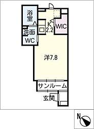 ア ミ アイレ神の倉[1階]の間取り
