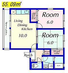 コーラルハイム[103号室]の外観