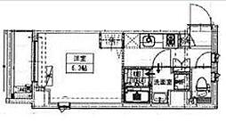 B CITY APARTMENT IKEBUKURO WES[5階]の間取り
