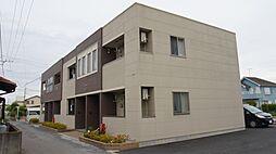 埼玉県深谷市栄町の賃貸アパートの外観