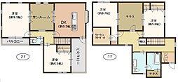 [一戸建] 滋賀県大津市本堅田5丁目 の賃貸【/】の間取り