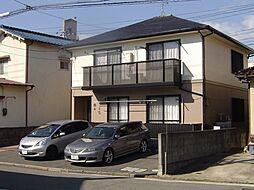 広島県広島市東区矢賀1丁目の賃貸アパートの外観