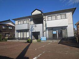 新潟県燕市笈ケ島の賃貸アパートの外観