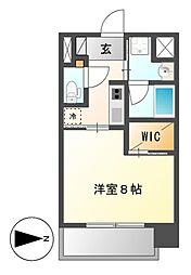 セレステーション[4階]の間取り