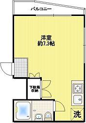 シャトレ・ナガシマ[111号室]の間取り