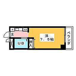 BELLE TOPIA稲沢4[5階]の間取り