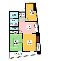 ReNaXiA tenpaku[5階]の間取り