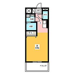仮)サン・名駅太閤ビル[9階]の間取り