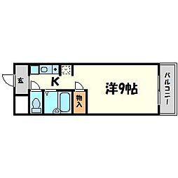 マンションNOTO[1階]の間取り