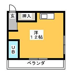エクセルハイム一宮[3階]の間取り