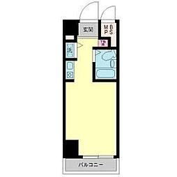 モナークマンション西川口[801号室]の間取り
