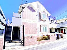 東京都葛飾区金町1丁目の賃貸アパートの外観