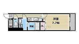 Court小路[1階]の間取り