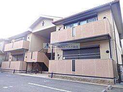 大阪府東大阪市岩田町1丁目の賃貸アパートの外観