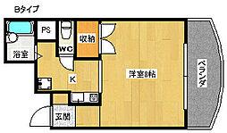 ジュネスタムラ[4階]の間取り