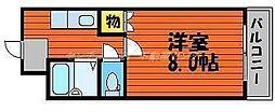 吉備線 大安寺駅 徒歩14分