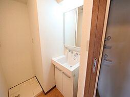 メイプルコート布池の脱衣所 独立洗面台(シャンプードレッサー付)収納スペース有
