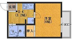 マンションソレイユ[3階]の間取り