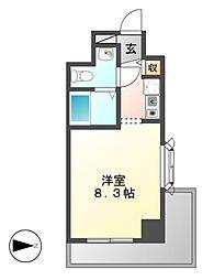 La Douceur新栄(カスタリア新栄)[14階]の間取り