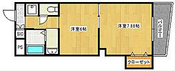アール26[2階]の間取り