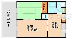 金堂ビル[2階]の間取り