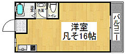 MAILLOTJAUNE NOZAKI[3階]の間取り