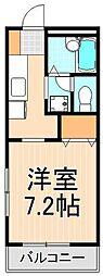 エスポワール[1階]の間取り