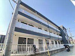 神奈川県海老名市中新田2の賃貸マンションの外観