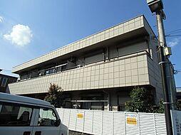 メゾンブランカA[1階]の外観