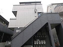 東京都世田谷区豪徳寺1丁目の賃貸アパートの外観