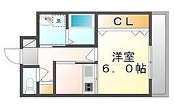 高松琴平電気鉄道琴平線 三条駅 徒歩14分の賃貸マンション 1階1Kの間取り
