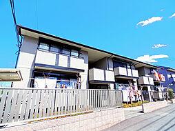 東京都小平市大沼町3丁目の賃貸アパートの外観
