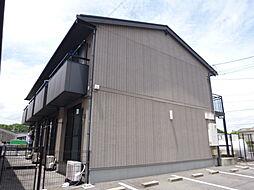 岡山県倉敷市連島3丁目の賃貸アパートの外観