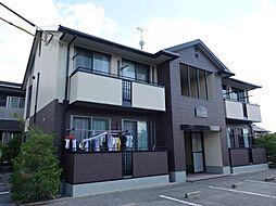 長野県佐久市佐久平駅北の賃貸アパートの外観
