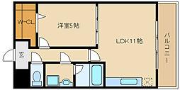 マ メゾン金楽寺[3階]の間取り