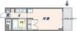 エレメント青山[2階]の間取り