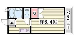 山陽電鉄本線 大塩駅 徒歩6分の賃貸アパート