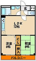 しんゆう[2階]の間取り